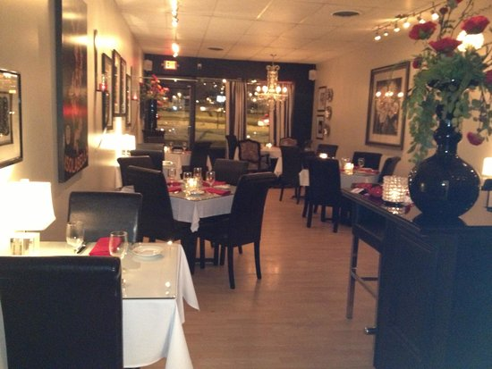 The Bijou Bistro Dining Room