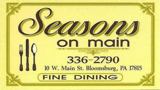 Seasons on Main: SeasonsonmainPa.com