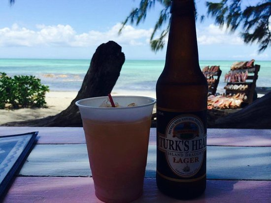 da Conch Shack: the drinks and the view