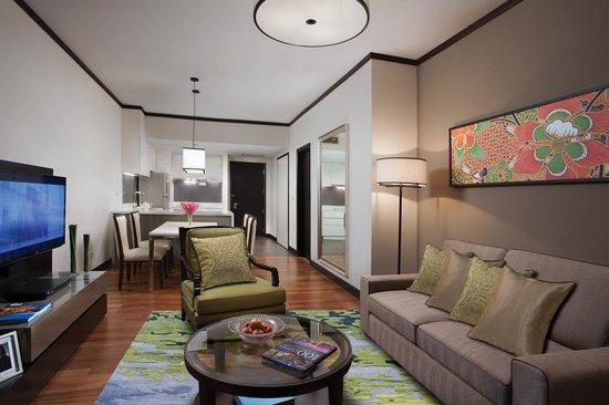Ascott Kuala Lumpur: One-Bedroom Deluxe Living Room