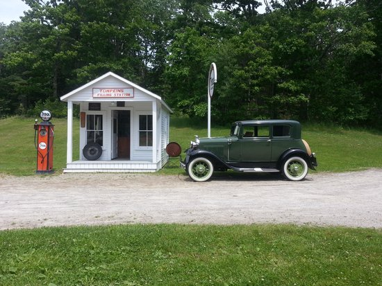 Boothbay Railway Village: At the museum