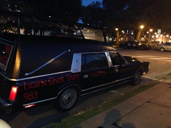 """Hearse Ghost Tours: Ask for """"Dawn"""" of the dead"""