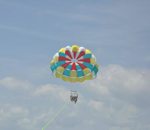 Parasailing at H2O Sports