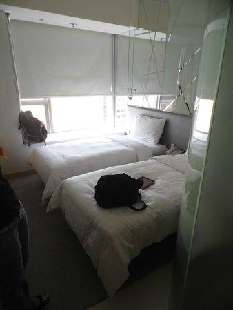 Dorsett Mongkok Hong Kong: This is the room.