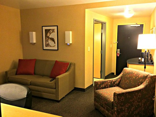 Cambria Hotel & Suites Rapid City: Living room area