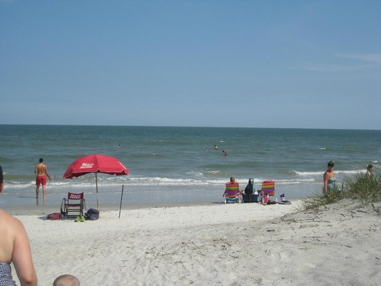 Hilton Head Resort: Private Beach