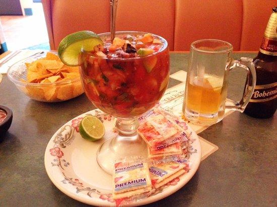 El Sol DE Mexico 2: Campechana, very tasty