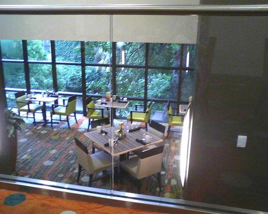 Holiday Inn San Antonio Riverwalk: The View as You Dine