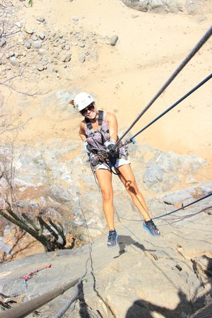 Outdoor Zip Line Adventure: S.W.A.T. team here I come!