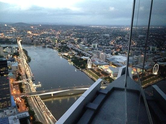 Meriton Serviced Apartments Brisbane on Herschel Street: Awesome views at Sunrise