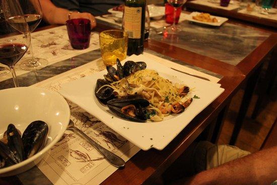 Osteria San Giorgio: Seafood carbonara