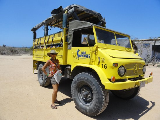 Cabo Adventures : Fun rides in the Mercedes UniMog
