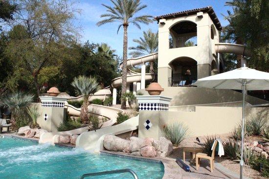 Fairmont Scottsdale Princess : Pool and Slide