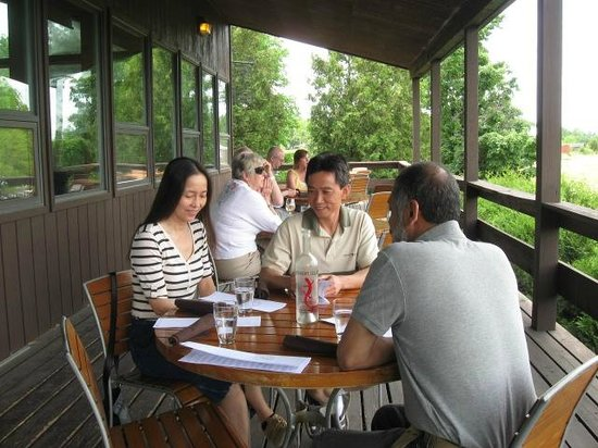 Red Newt Cellars Winery & Bistro: Lunch at Red Newt