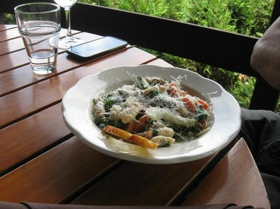 Red Newt Cellars Winery & Bistro: Gnocchi at Red Newt