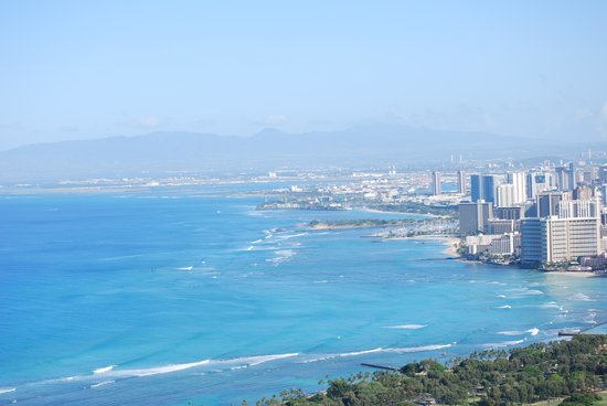 Diamond Head: View from the top