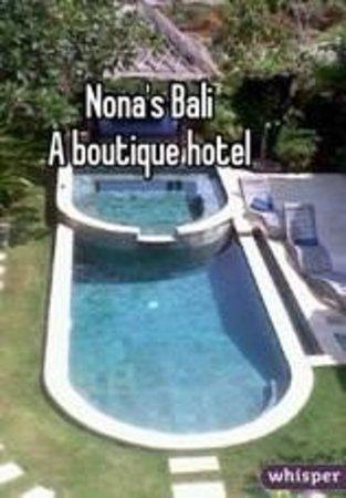 Hill Dance Bali, American Hotel: Nona's Bali