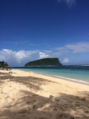 Taufua Beach Fales: Perfect (?)