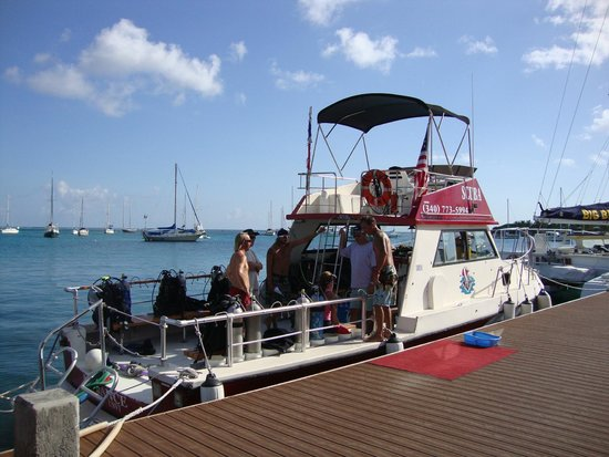 St. Croix Ultimate  Bluewater Adventures (SCUBA), Inc.: Reliance at Christiansted Pier