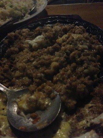 Kinabuch Grill & Bar: Crocodile sisig