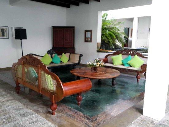 Barberyn Reef Ayurveda Resort: Lounge Area