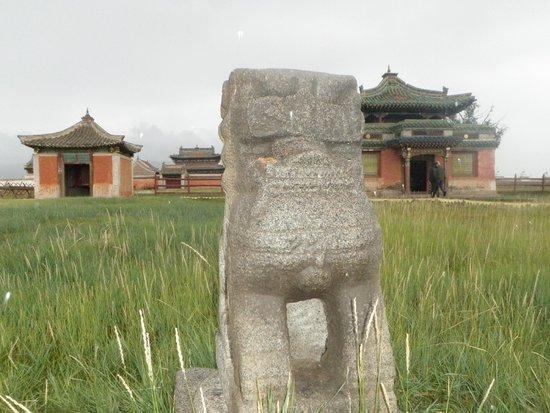 Karakorum (Kharkhorin) : The monastery suffered damage during Soviet occupation