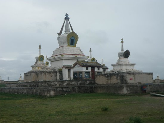 Karakorum (Kharkhorin) : The Golden Stupa