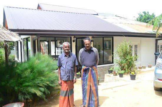 Hill Safari Eco Lodge Ohiya: Francis & Patrick
