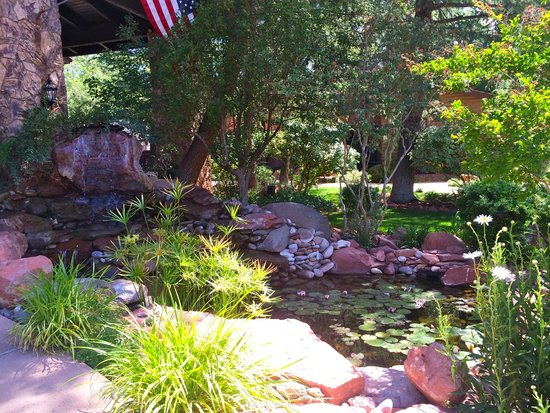 L'Auberge de Sedona: Lily pond