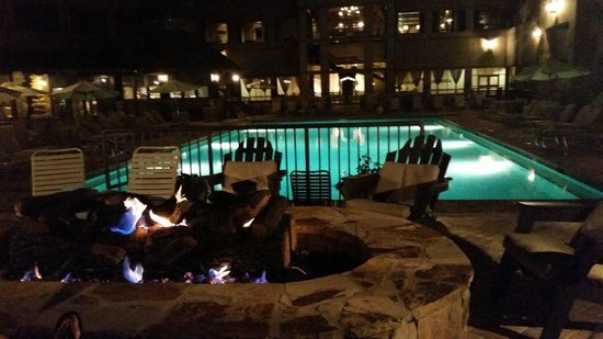fire pit overlooking the pool picture of legacy lodge buford rh tripadvisor com