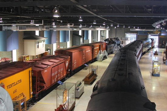 Railroad Museum of Pennsylvania: What a great display