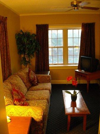 Senate Luxury Suites: Sitting Room
