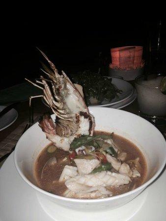La Lucciola: My Seafood chowder...OMG!!