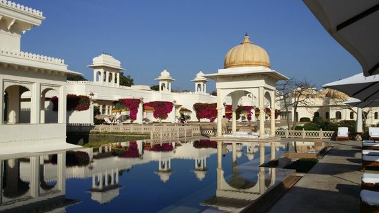 The Oberoi Udaivilas: Amazing views