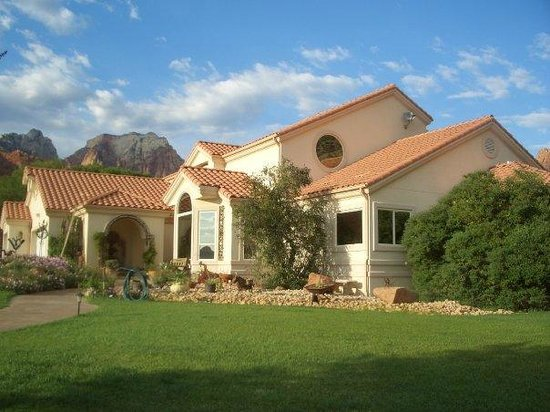 Zion Canyon Bed and Breakfast : Afternoon
