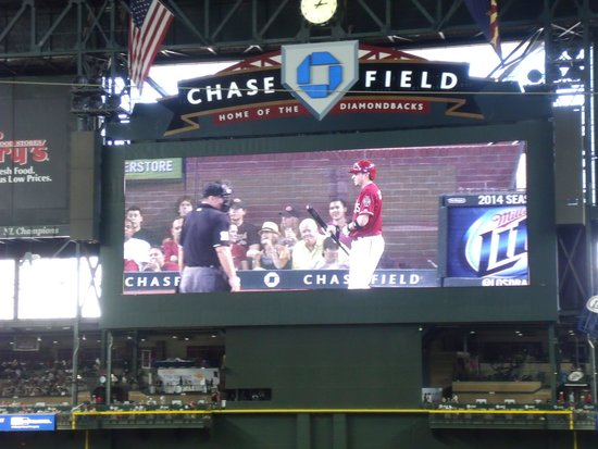 Chase Field : center field