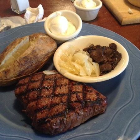 Grindstone Charley's : top sirloin