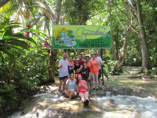 Grand Bahia Principe Jamaica: Dunn's River Falls -- highly recommend