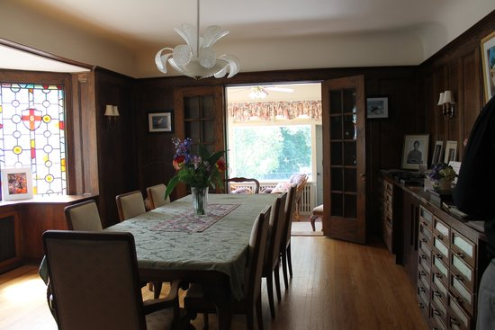 The Moffat House: Dining Room
