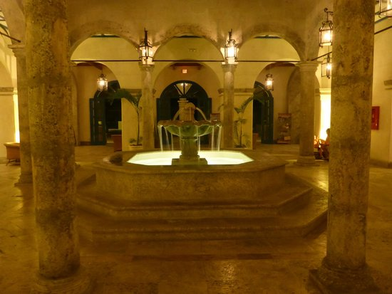 Sanctuary Cap Cana by AlSol: lobby at night