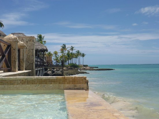 Sanctuary Cap Cana by AlSol: view from infinity pool (2nd room)