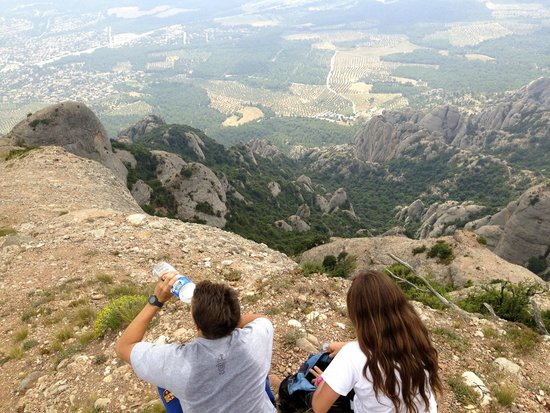 Barcelona Turisme - Afternoon in Montserrat Tour: Our view from the highest point we got.