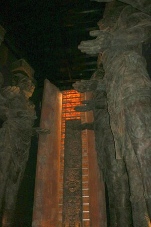 The Grand Mayan Nuevo Vallarta: entry area