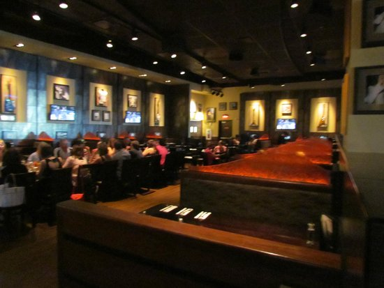 Hard Rock Cafe: one of the main dining area