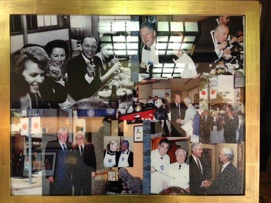 Tenichi Ginza Honten: celebrities