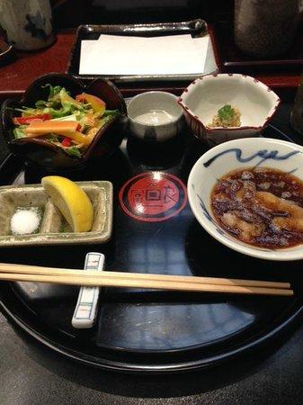 Tenichi Ginza Honten: plate
