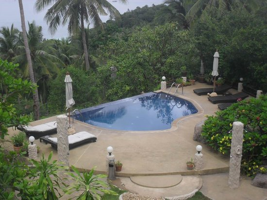 The Rocks Villas: View of the pool from our terrace.