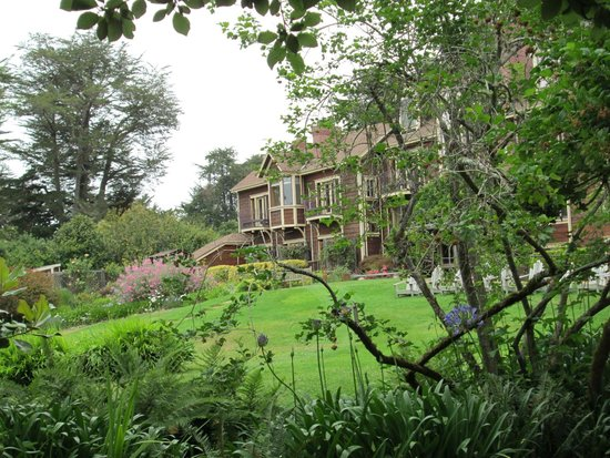 The Lodge at Point Reyes : The Lodge grounds