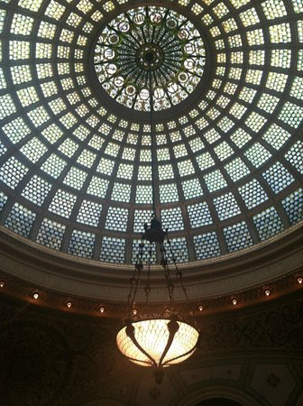 Chicago Cultural Center : Glass dome