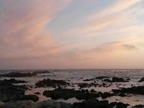 Asilomar State Beach: Sunset at beach